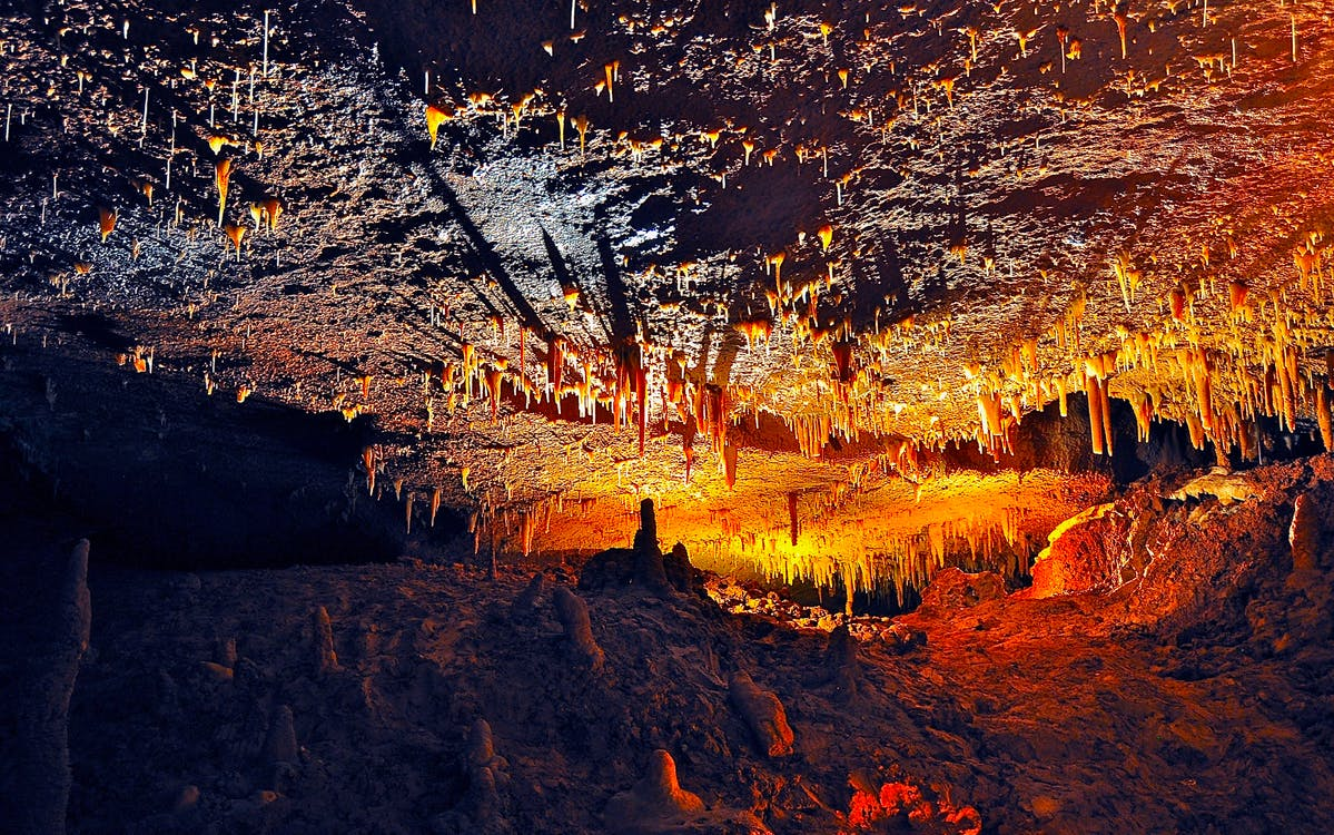 Lighted Cave