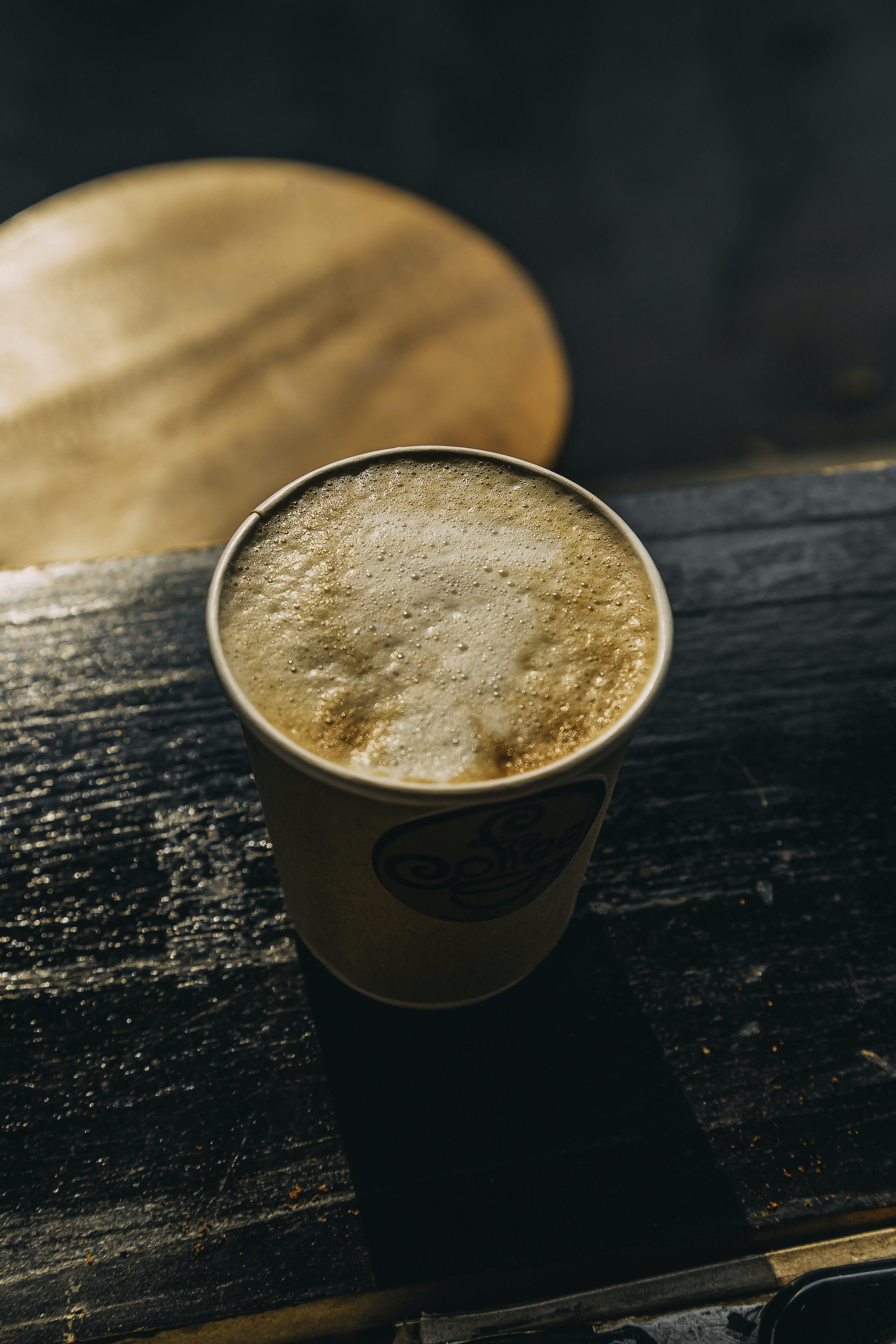 Gratis lagerfoto af brun, cafe, cappuccino, close-up