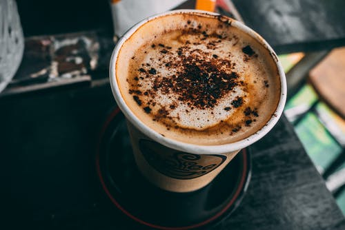 Gratis stockfoto met cafeïne, cappuccino, close-up, coffee to go