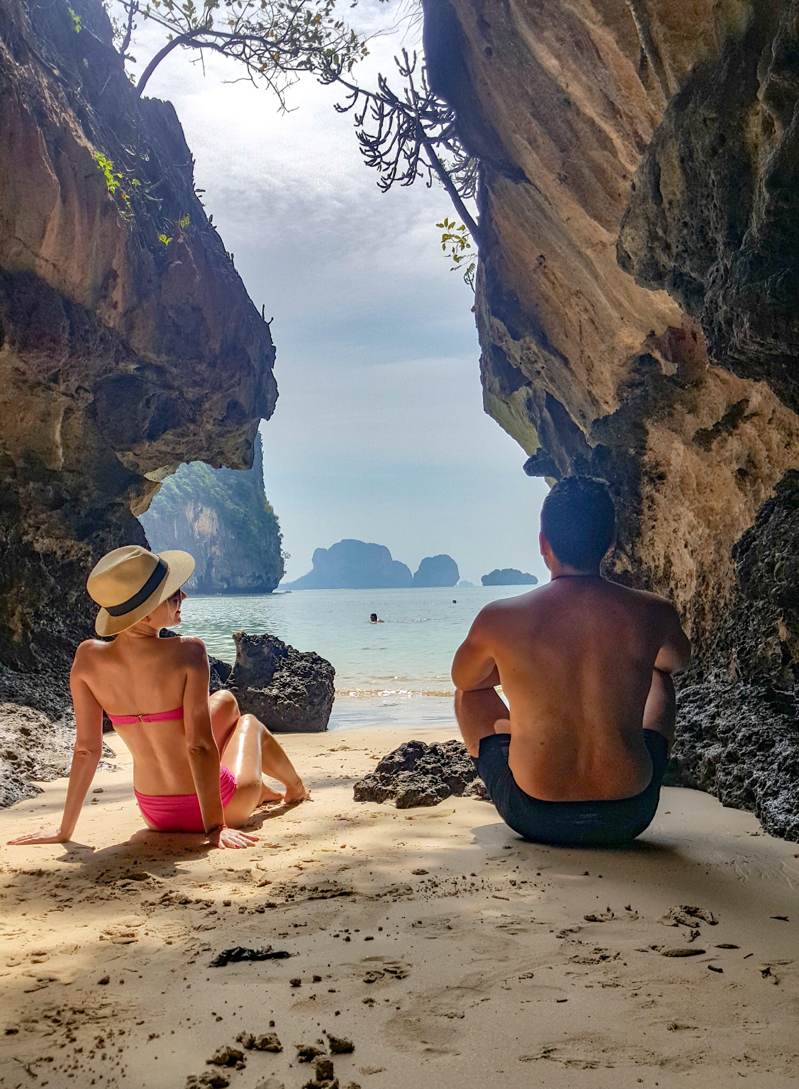 Free stock photo of beach, beautiful, couple, dream