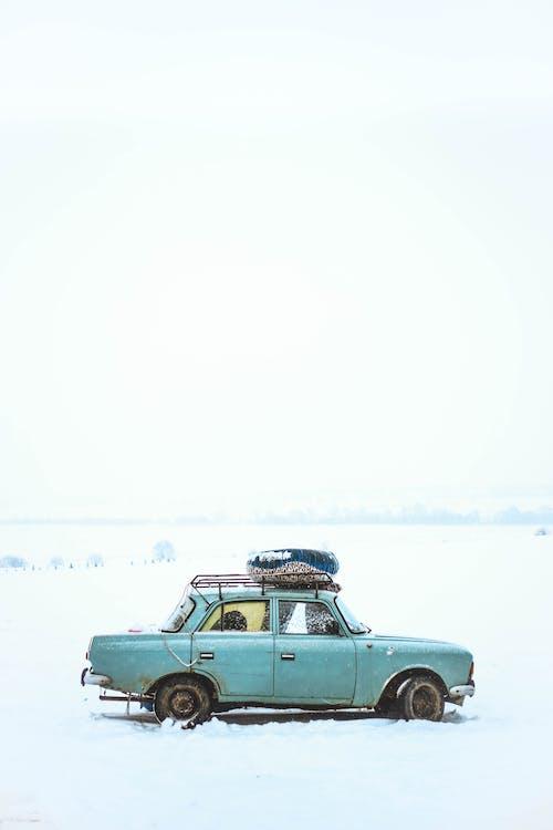 автомобиль, дневной свет, зима