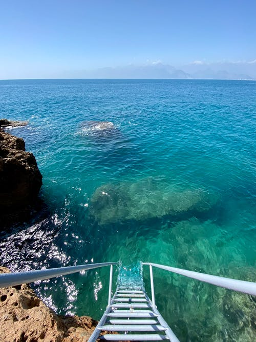 Photos gratuites de baie, bleu, bord de mer