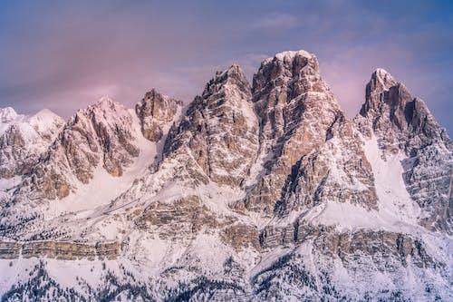 Photos gratuites de alpin, brumeux, ciel, couvert
