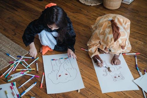 Kostnadsfri bild av barn, familj, fantasi