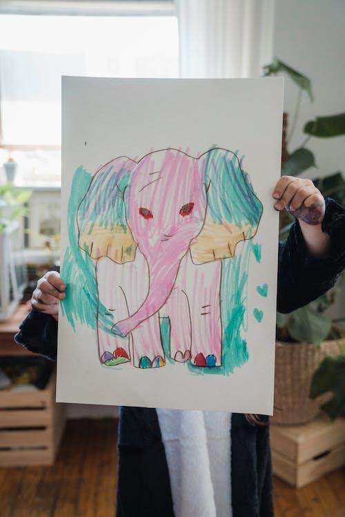 アート, キッド, ピンクの無料の写真素材