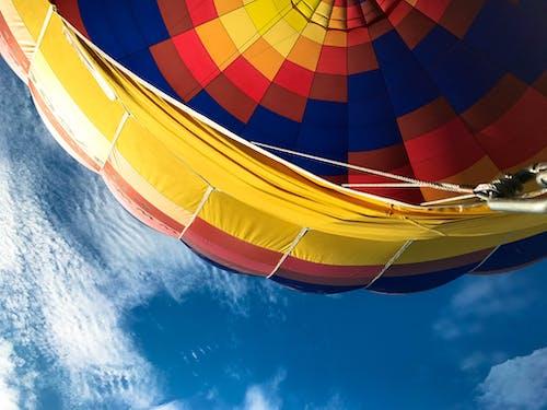 คลังภาพถ่ายฟรี ของ ขี่, ความสูง, ท้องฟ้า, นั่งบอลลูน