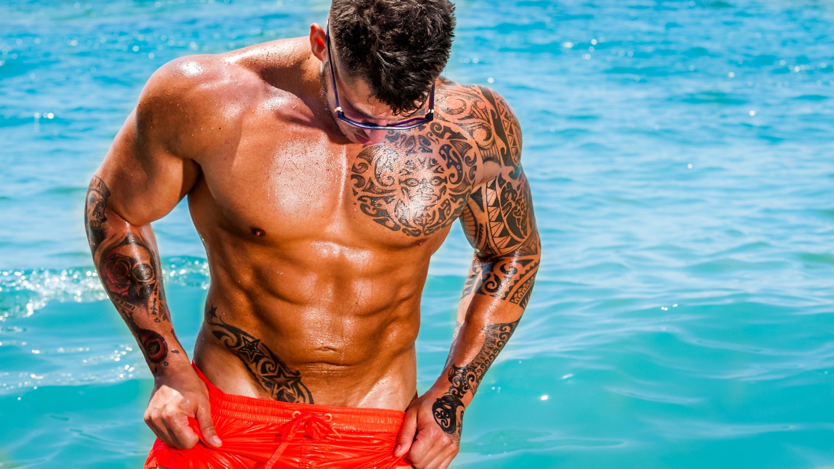 Δωρεάν στοκ φωτογραφιών με bodybuilder, άνδρας, άνθρωπος, αρσενικός