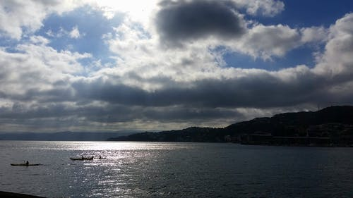 Free stock photo of beach, cloud, promenade, sea