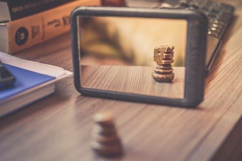 Kostenloses Stock Foto zu bücher, reflektierung, reflexion, ritter