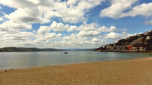 Free stock photo of beach, blue sky, clouds, cloudy sky
