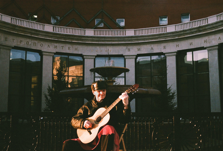 Free stock photo of 35, film, good, guitar