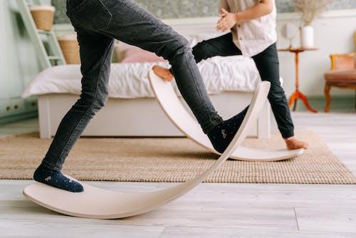 Gratis stockfoto met balanceren, balansbord, bewuste activiteiten
