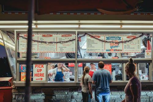 Foto stok gratis bisnis, fast food, kaum wanita
