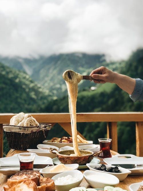 乳酪, 可口的, 垂直拍攝 的 免費圖庫相片