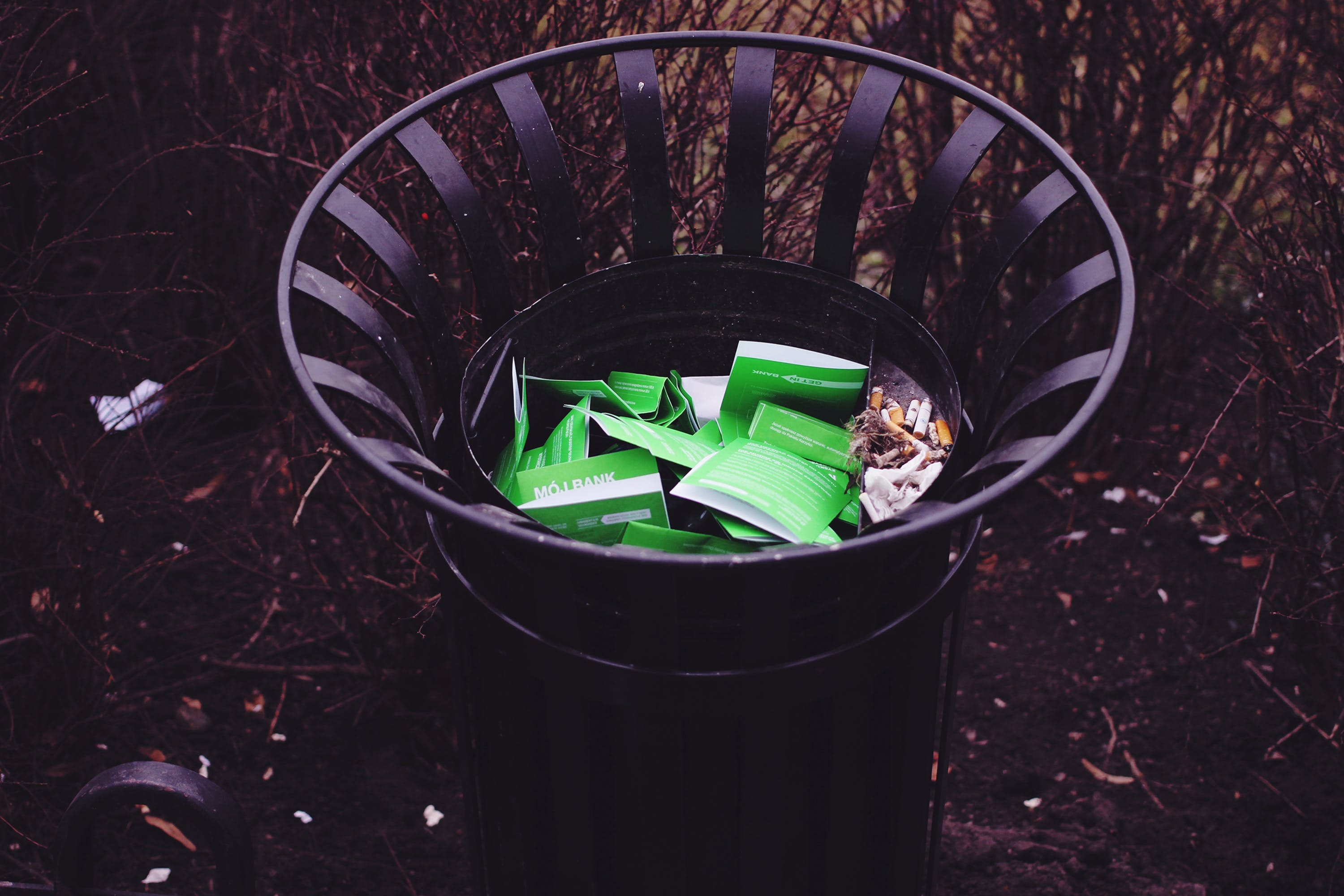 Free stock photo of trash, container, waste, garbage
