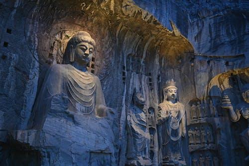 Buddha Statues in the Longmen Grottoes