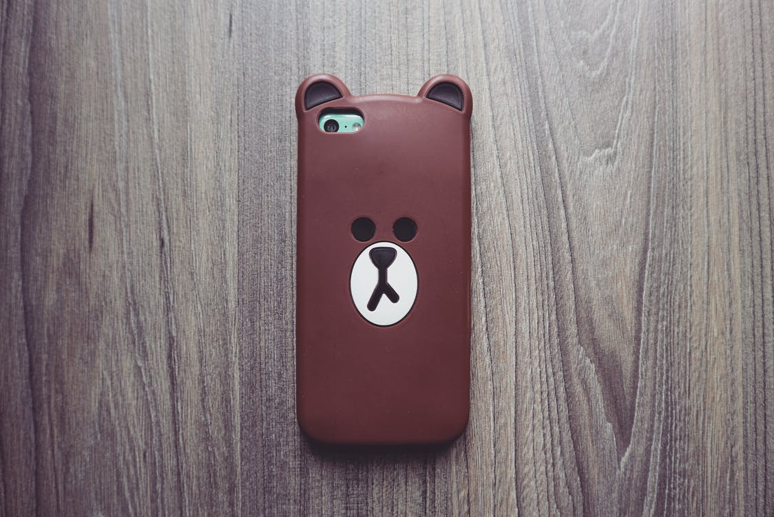 Photography of Brown Bear Iphone Case