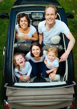Free stock photo of holiday, car, travel, happy