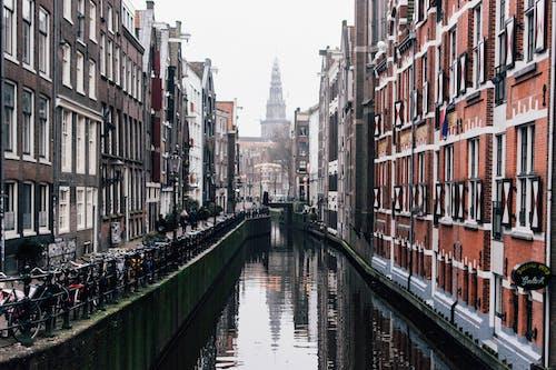 Základová fotografie zdarma na téma Amsterdam, apartmány, architektura, budovy