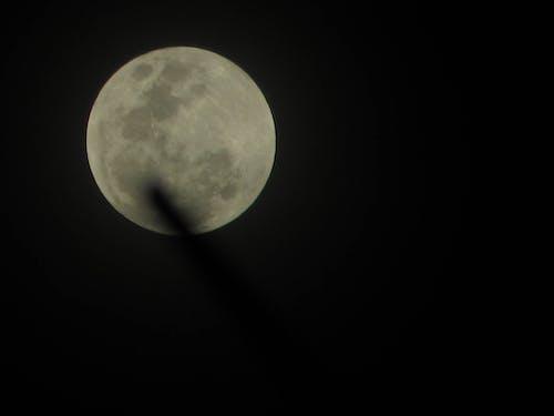 Foto d'estoc gratuïta de llum de la lluna, lluna, lluna plena, lluna súper
