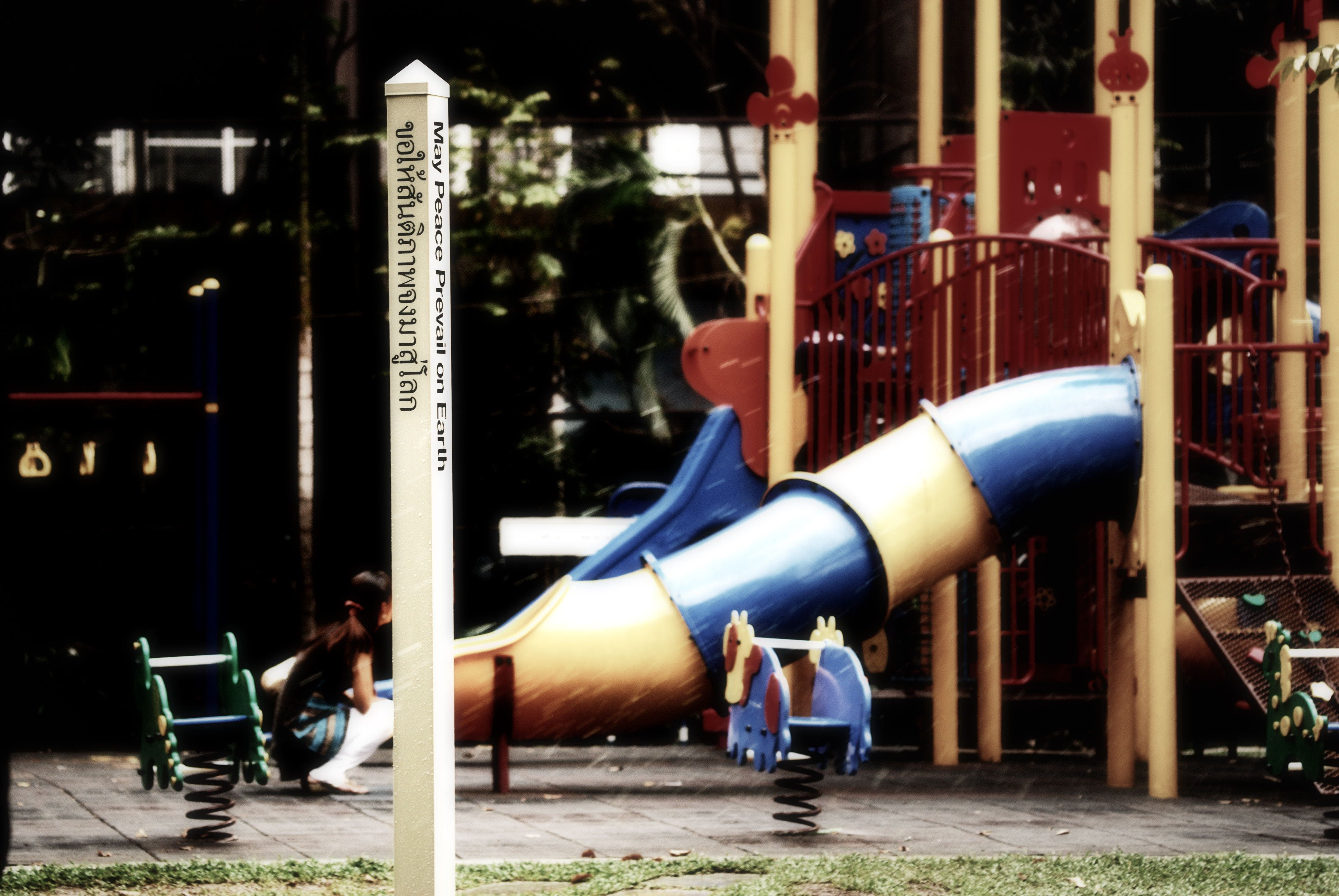 Free stock photo of peace, playground