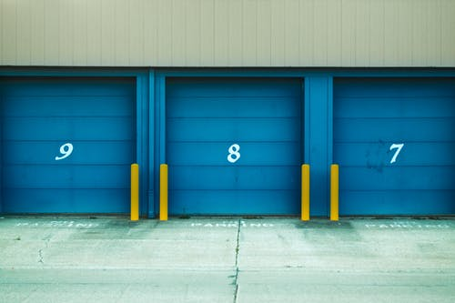 Photo of Blue Shutter Door