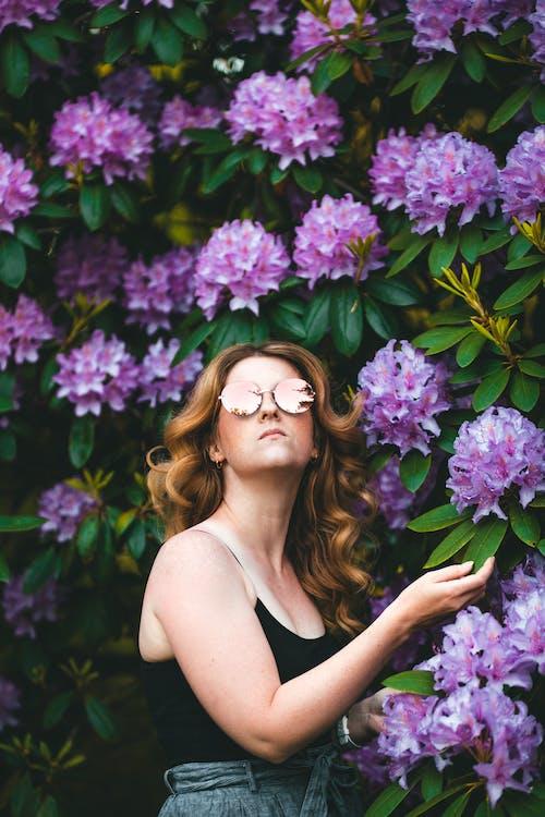 Ảnh lưu trữ miễn phí về chụp ảnh hoa, đàn bà, đẹp