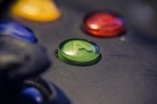 Free stock photo of green, box, closeup, a button