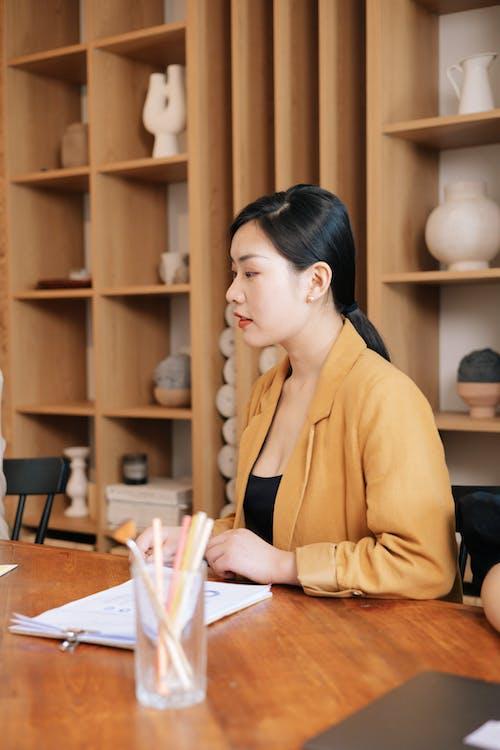 アジアの女性, ビジネス, ワーキングの無料の写真素材