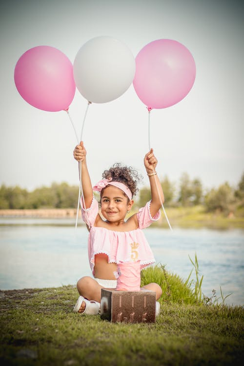 Darmowe zdjęcie z galerii z azjatyckie dzieci, azjatyckie dziecko, balon