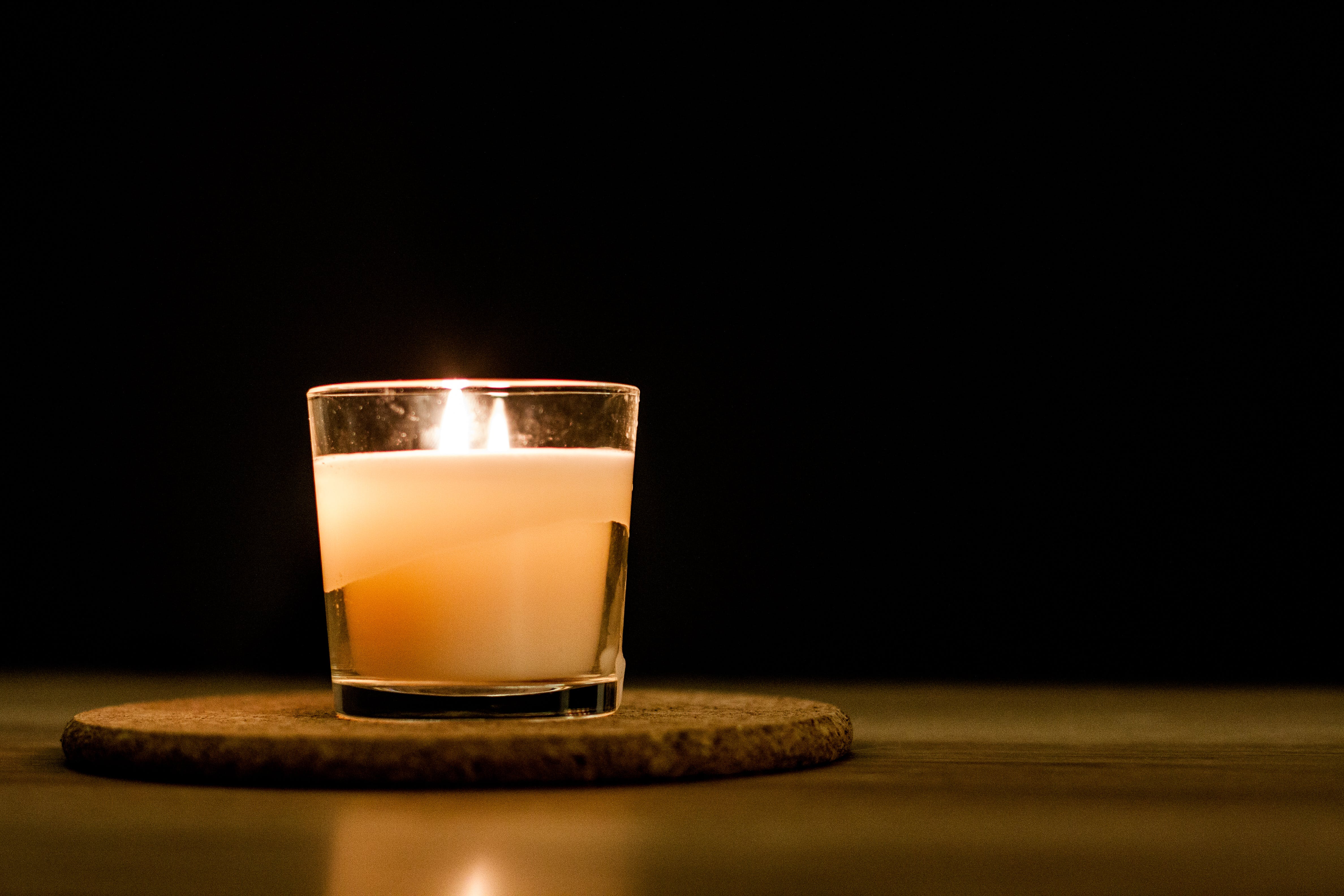 Free stock photo of glass, fire, candlelight, candle