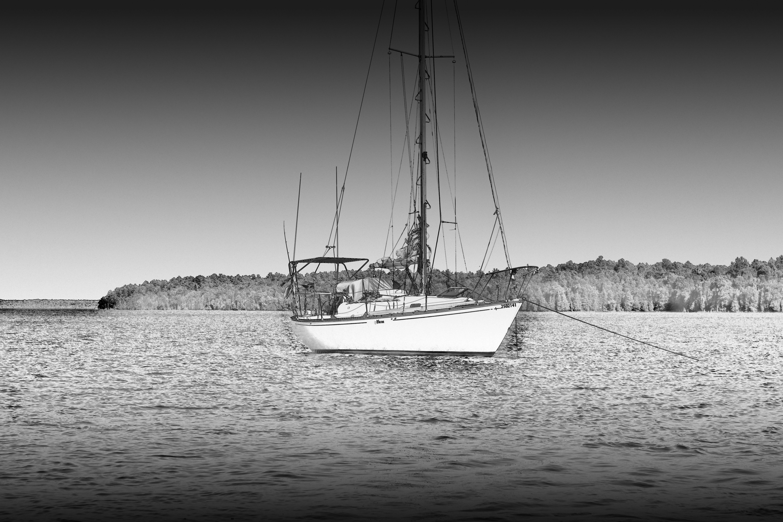 Gratis arkivbilde med båt, fartøy, hav, seil