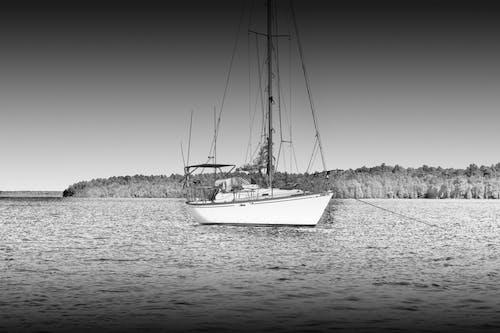 Ingyenes stockfotó fekete-fehér, hajóm csónak, óceán, tenger témában