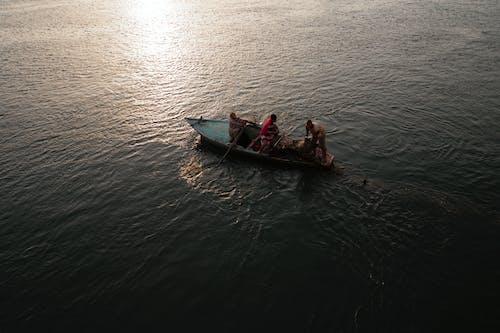 Photos gratuites de aube, bateau, canoë