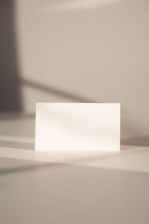 White Printer Paper on White Table