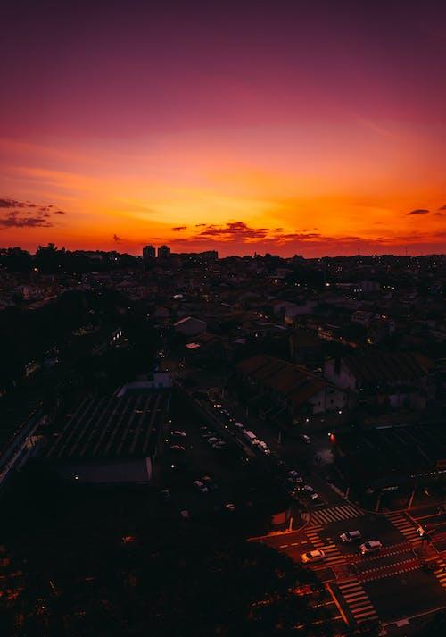 Immagine gratuita di alba, architettura, città