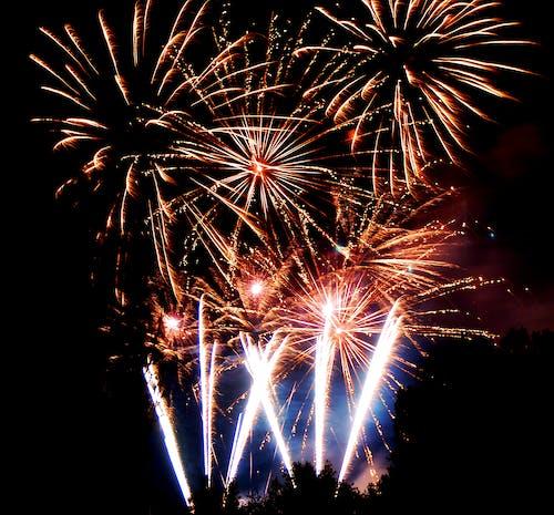 Fireworks Display on Nighttime