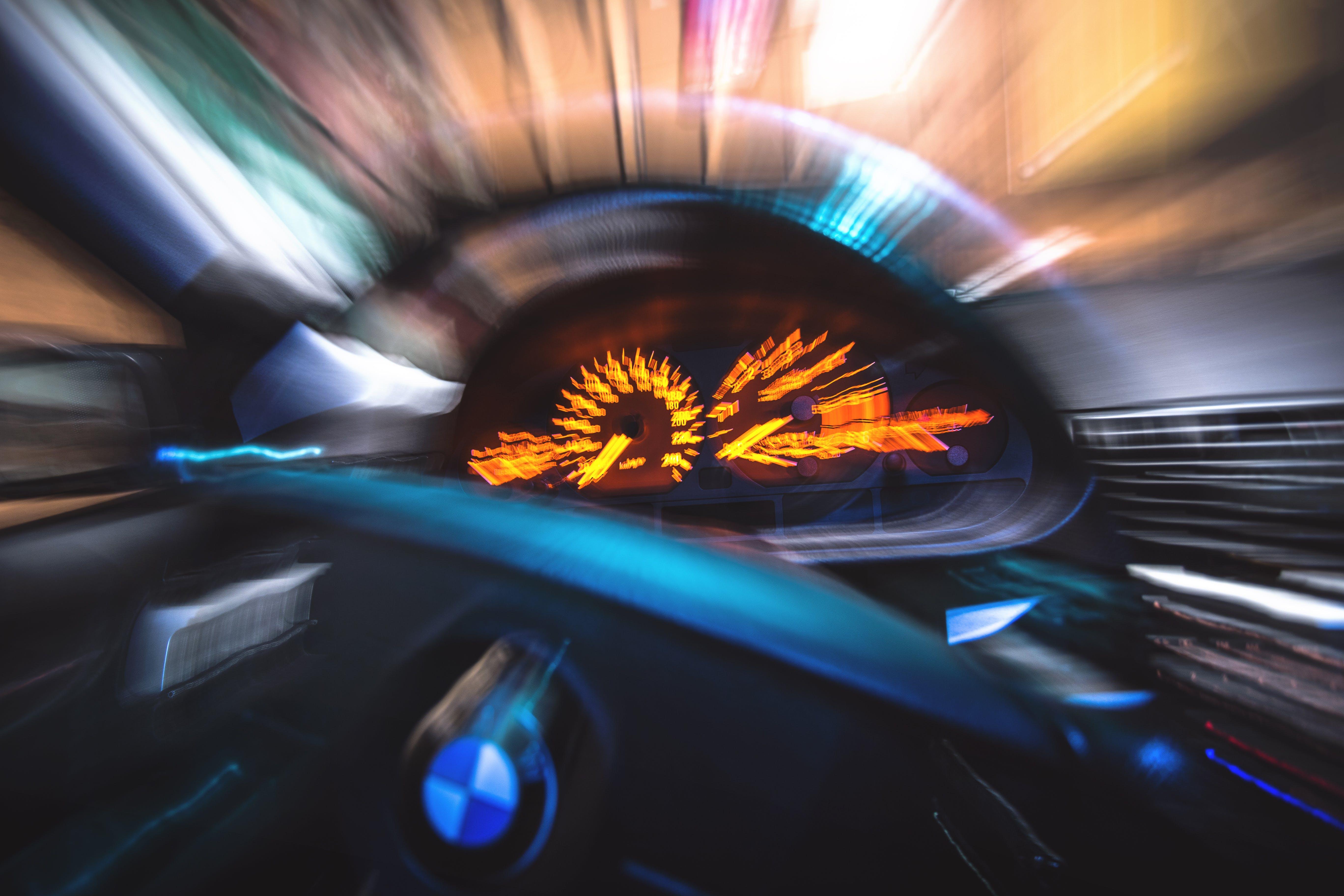 Free stock photo of car, blur, motion, ride