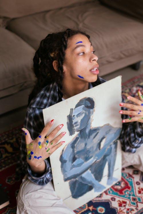 Gratis arkivbilde med ansiktsuttrykk, artist, barn