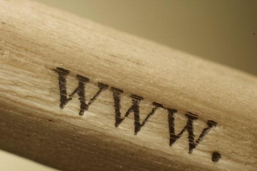 Free stock photo of wood, pencil, web, www