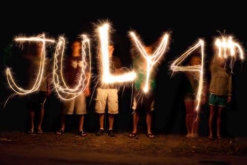 7月4日, 七月四日, 不堅固的 的 免费素材图片
