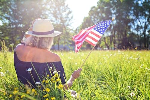 7月4日, 七月四日, 乾草地 的 免费素材图片