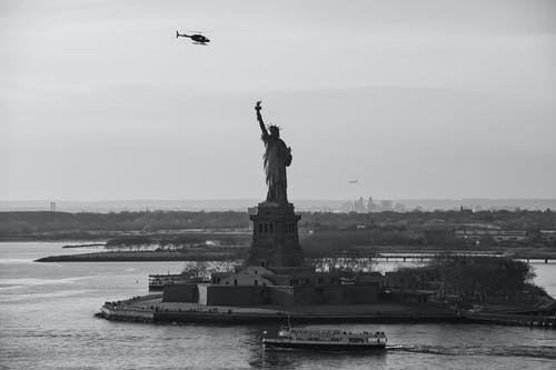 A Scenic View of the Statue of Liberty