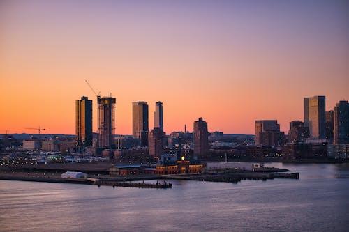 A Scenic City Skyline