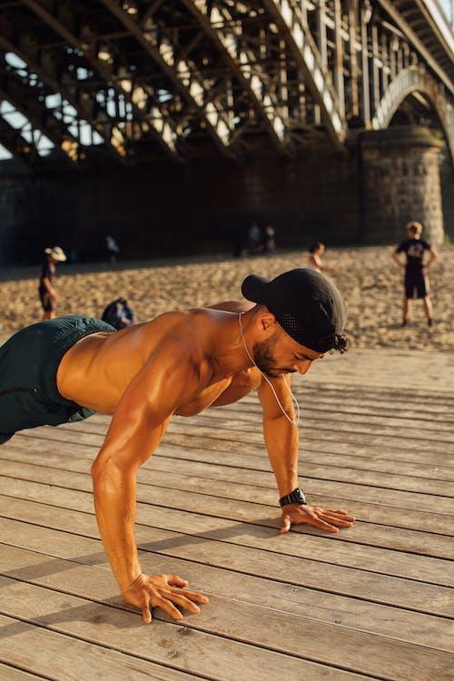 Imagine de stoc gratuită din activitate in aer liber, antrenament, bărbat