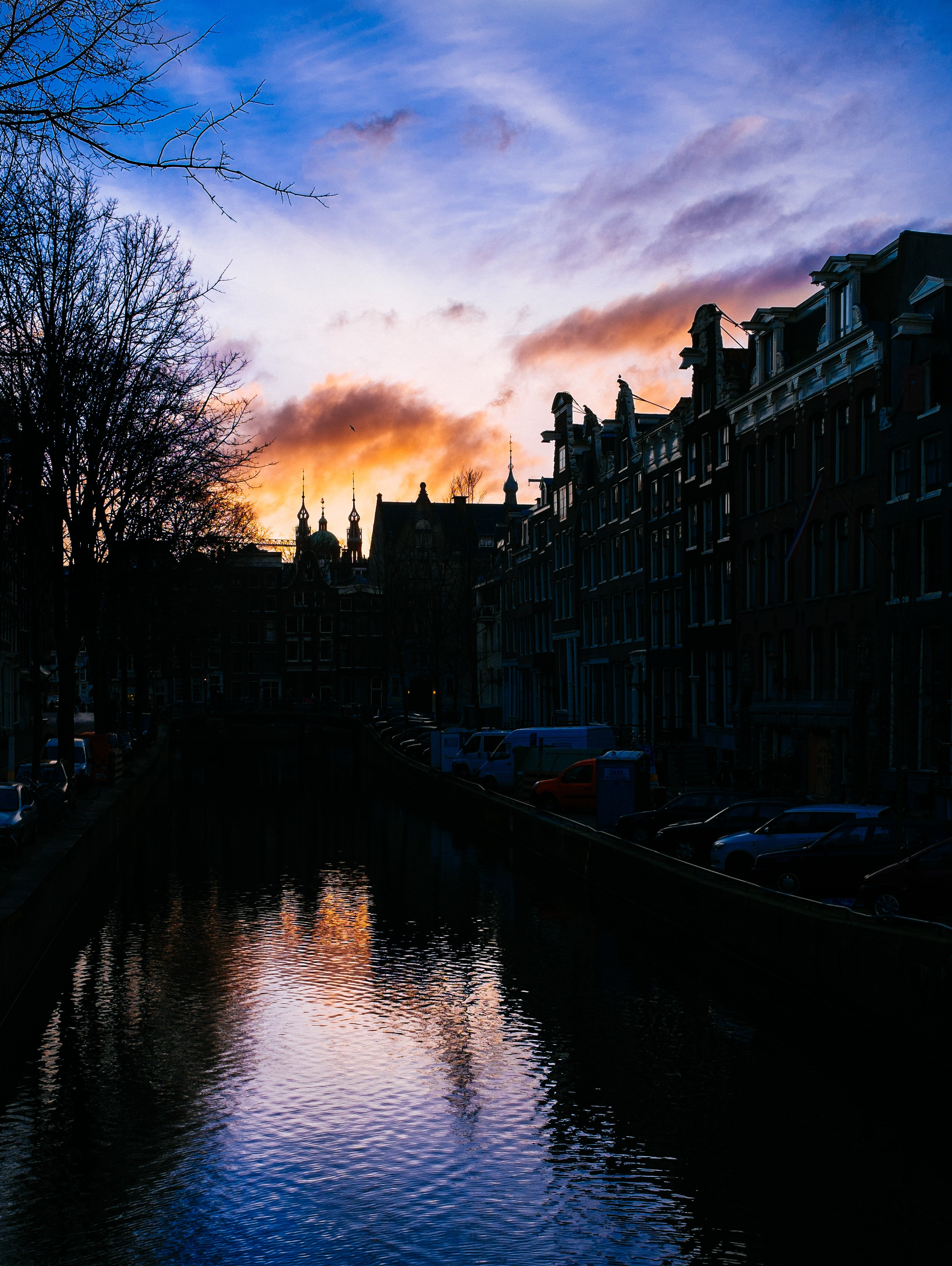 Free stock photo of water, canal, amsterdam