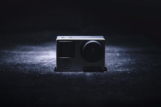 Kostenloses Stock Foto zu licht, nacht, kamera, dunkel