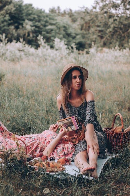 Women Having Picnic Together