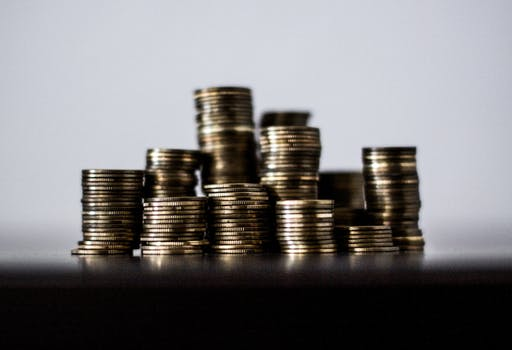 Free stock photo of rich, money, gold, coins