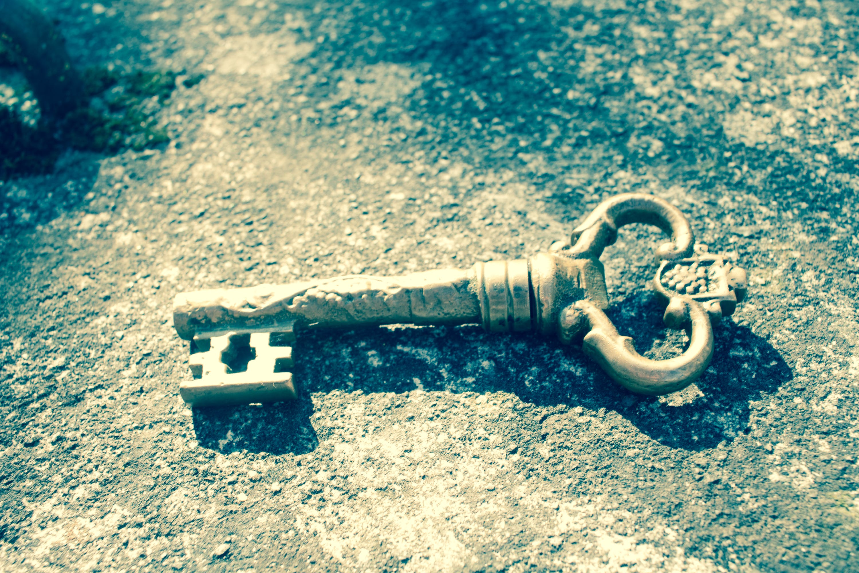 Free stock photo of key